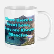 Where There Is Great Love Mug