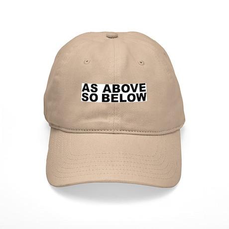 AS ABOVE SO BELOW Cap