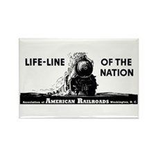 Life-Line Of the Nation 1940 Rectangle Magnet (10