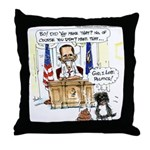 this is a duplicite Throw Pillow
