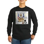 this is a duplicite Long Sleeve Dark T-Shirt