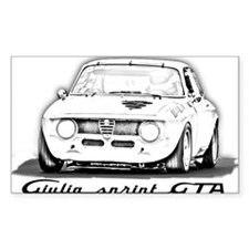 Giulia Sprint GTA Bumper Stickers