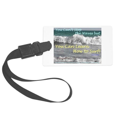 You Can Learn Large Luggage Tag
