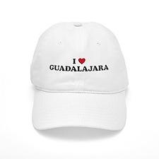 I Love Guadalajara Baseball Cap