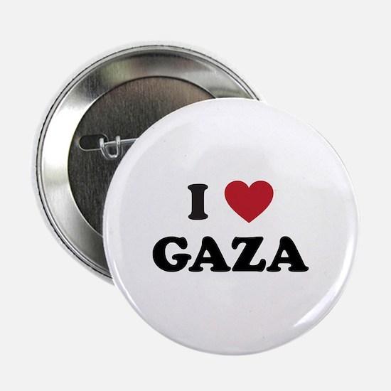 """I Love Gaza 2.25"""" Button"""