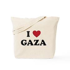 I Love Gaza Tote Bag