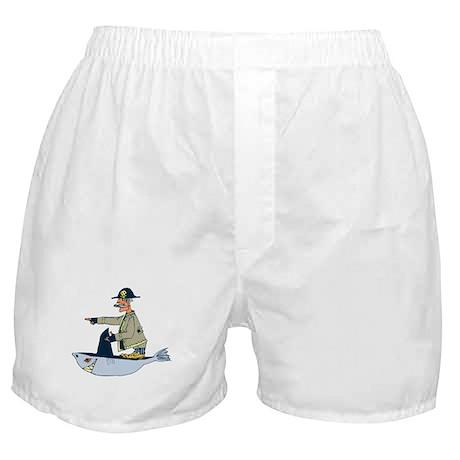 Shark Pirate Boxer Shorts