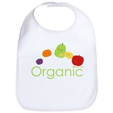 """Organic Fruits 2"" Bib"