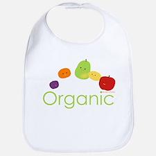 """Organic Fruits 2"" Bib"