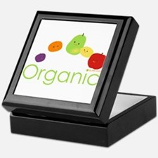 """Organic Fruits 2"" Keepsake Box"