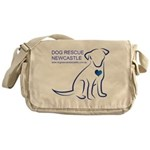 Dog Rescue Newcastle logo Messenger Bag