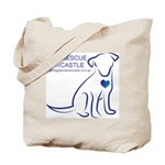Dog Rescue Newcastle logo Tote Bag