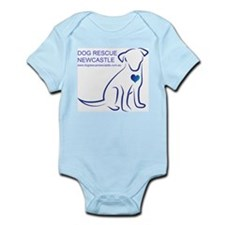Dog Rescue Newcastle logo Infant Bodysuit