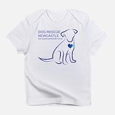 Dog Rescue Newcastle logo Infant T-Shirt