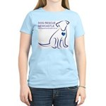 Dog Rescue Newcastle logo Women's Light T-Shirt