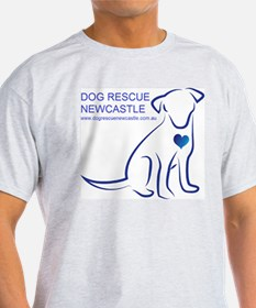Dog Rescue Newcastle logo T-Shirt