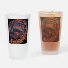 Katsushika Hokusai Phoenix Drinking Glass