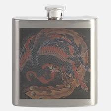 Katsushika Hokusai Phoenix Flask