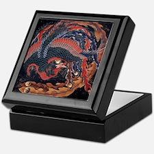 Katsushika Hokusai Phoenix Keepsake Box