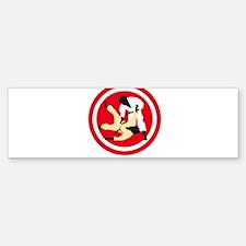 judo Bumper Bumper Sticker