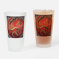 Katsushika Hokusai Dragon Drinking Glass