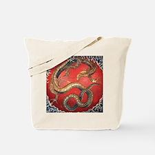 Katsushika Hokusai Dragon Tote Bag