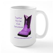 Together We Can Kick Sarcoidosis Mug