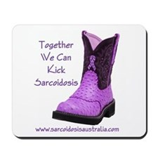 Together We Can Kick Sarcoidosis Mousepad