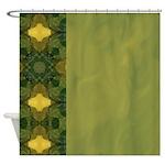 Elegant Floral Shower Curtain