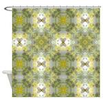 Floral Kaleidoscope Shower Curtain