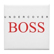Undercover Boss Tile Coaster