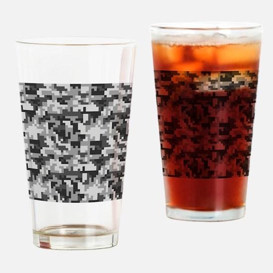 Unique Camo Drinking Glass