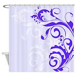 Pretty Floral Design Shower Curtain