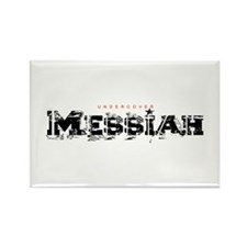 Undercover Messiah Rectangle Magnet