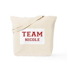 Team Nicole Tote Bag
