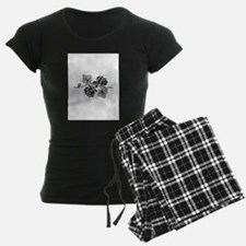 Rose and Ivy Twist Pajamas
