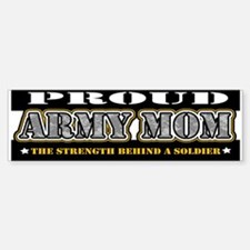 Proud Army Mom Bumper Bumper Sticker