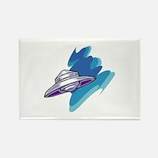 Alien Rectangle Magnet