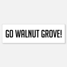 Go Walnut Grove Bumper Car Car Sticker