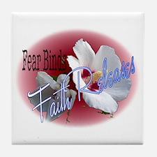 Faith Releases Tile Coaster