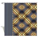 Native American Pattern Shower Curtain