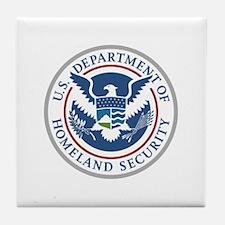 Center for Domestic Preparedness Tile Coaster