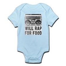 will_rap_baby Body Suit