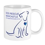 Dog Rescue Newcastle simple logo 2 Mugs