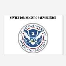 Center for Domestic Preparedness with Text Postcar