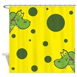 Peek-A-Boo Gators Shower Curtain