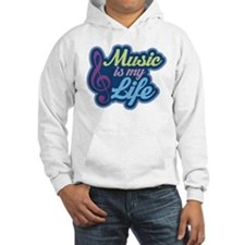 Cute Music Quote Hoodie