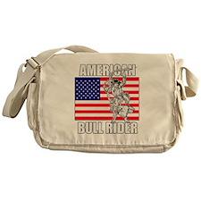 American Bull Rider Messenger Bag