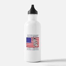 American Bull Rider Water Bottle