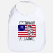 American Bull Rider Bib